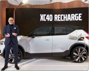 CEO Volvo Cars Bijorn Annwall