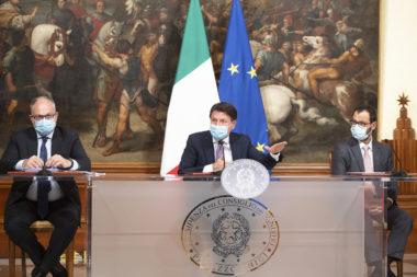 Decreto Ristori conferenza stampa