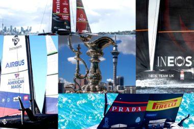 Coppa America 2021 collage