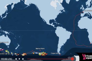 Vendée Globe 2020 Tracking Map 30 dicembre