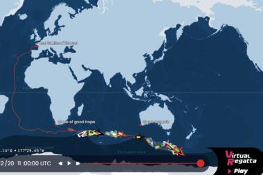 Vendée Globe Tracking Map