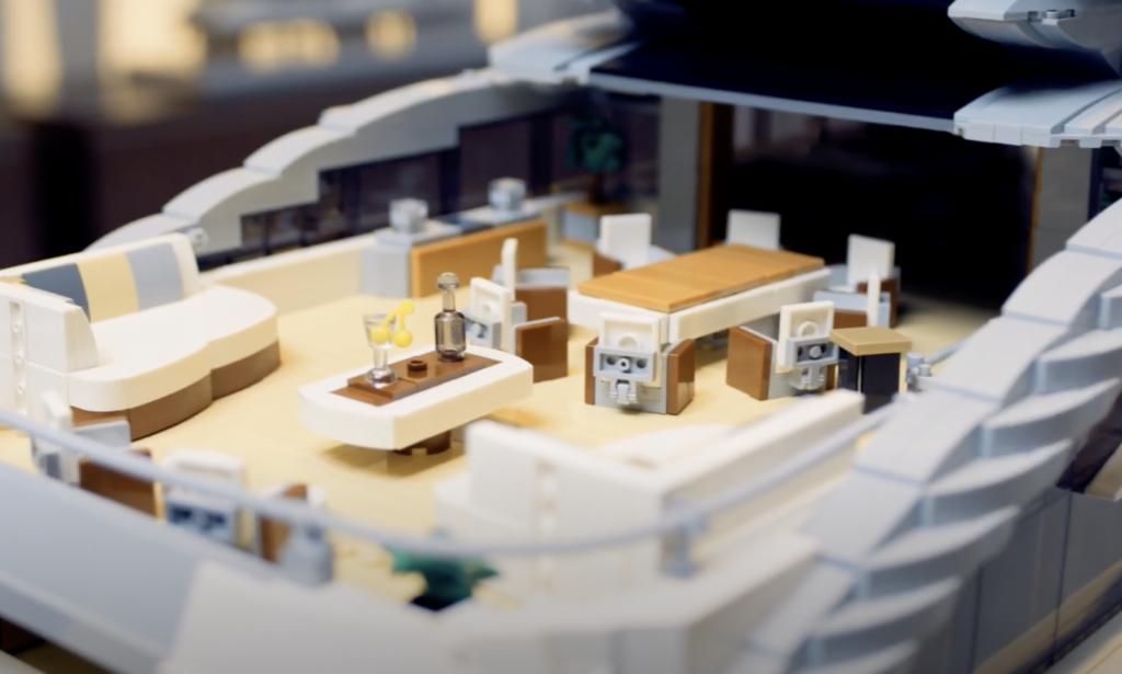 Heesen Cosmos Lego contest