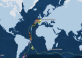 Vendée Globe Tracking Map 27 gennaio 2021