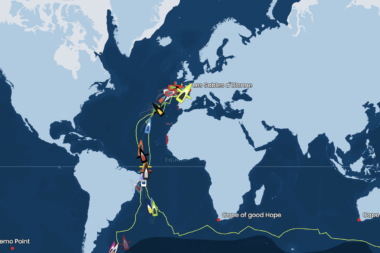 Vendée Globe Tracking Map 27 gennaio 2021