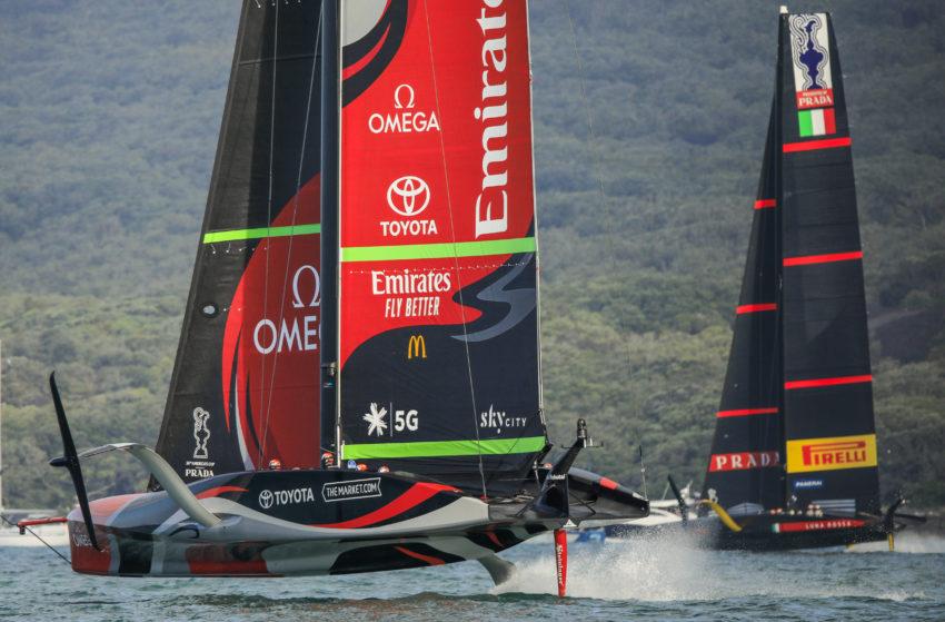 Emirates Team New Zealand, Luna Rossa Prada Pirelli Team