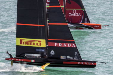 Luna Rossa Prada Pirelli Emirates Team New Zealand