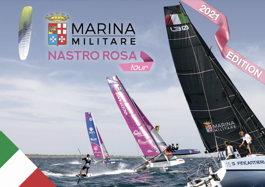 Marina Militare Nastro Rosa Tour 2021