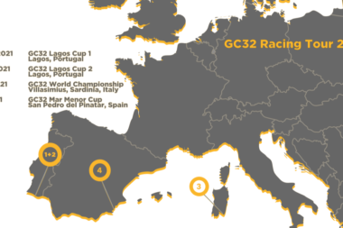 GC32 Racing Tour nuovo calendario