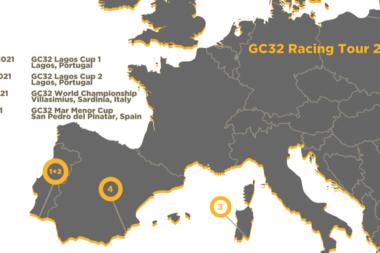 GC32 Racing Tour nuovo calendario