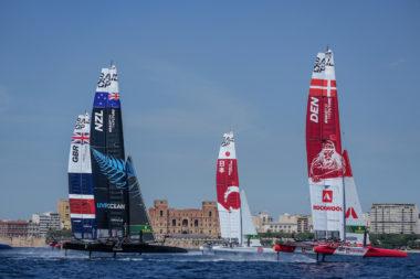 SailGP Taranto allenamento Mar Grande