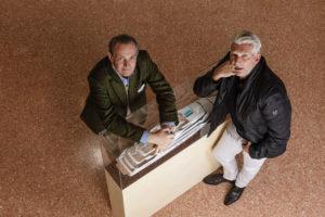 Carlo Nuvolari e Dan Lenard