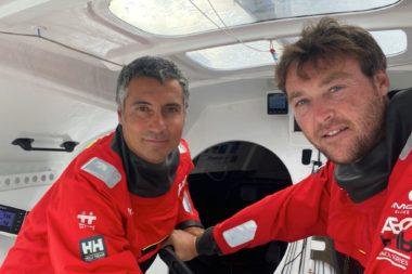 Giancarlo Pedote e Martin Le Pape