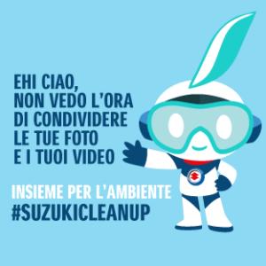 #SuzukiCleanUp