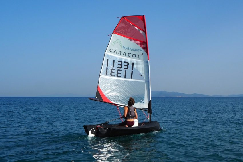 Beluga Caracol - Barca a vela stampata in 3D